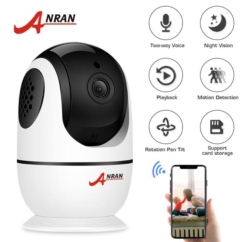 Anran Wifi 1080P HD ночного видения беспроводной камеры мониторы младенца безопасности камеры наблюдения Двусторонняя аудио Wireless