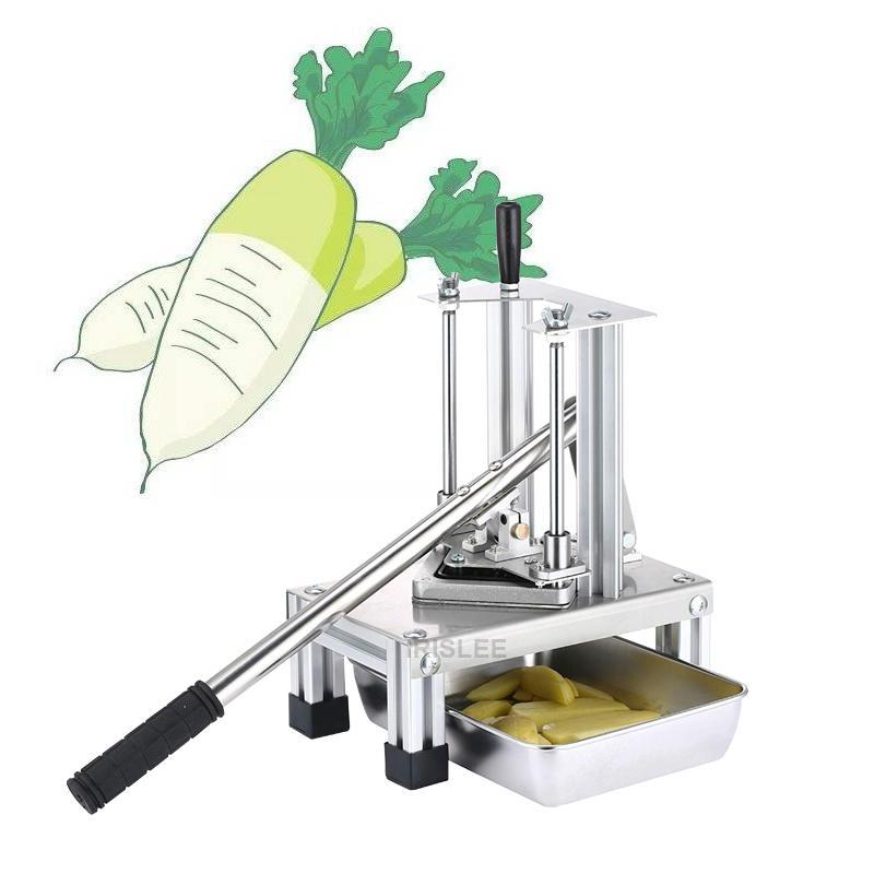 cortador de alta pressão batata mão qualityVertical para Fries pepino máquina de corte do cortador de batata fritas tiras de batata manual da máquina de corte