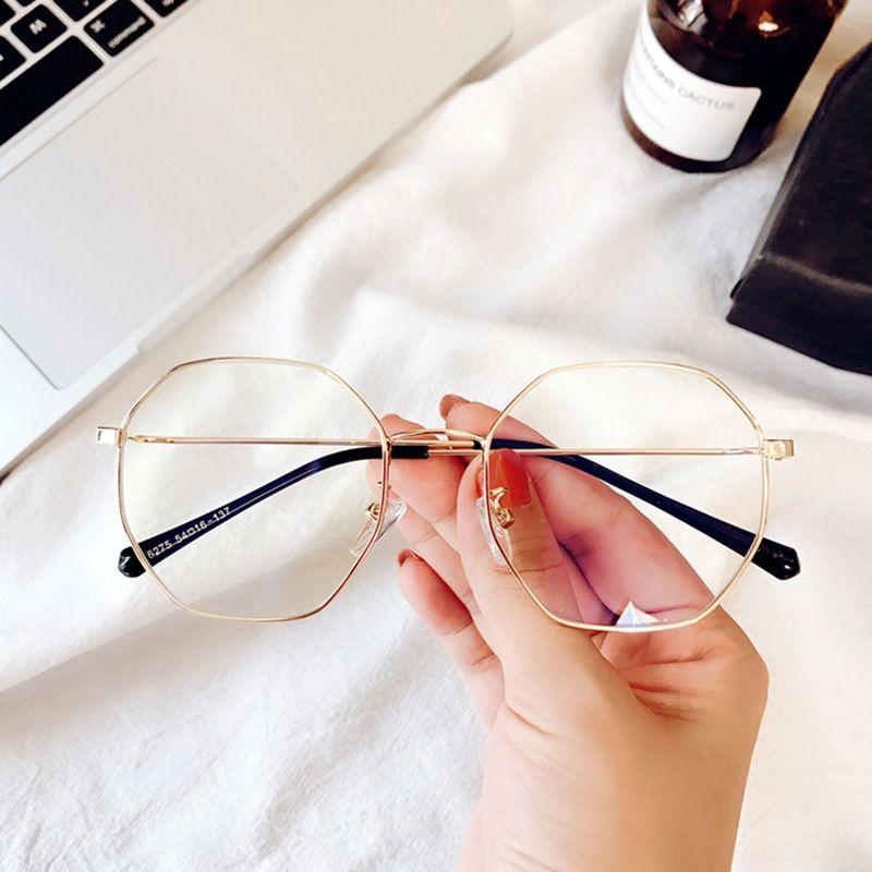 vZqvd telaio poligono irregolare letterari coreana Harajuku bicchieri vita bassa degli uomini delle donne 6275 possono abbinare miopia Occhiali Occhiali