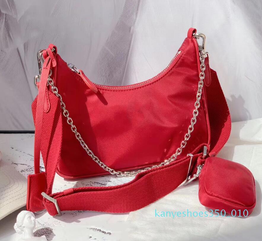 2020 bolsa de hombro de las mujeres de alta calidad de la manera del bolso de la señora de buen juego bolsas de nylon solo hombro Crossbody k10