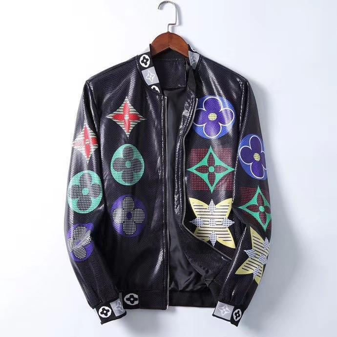 2020 nuevos hombres de cuero de diseño chaquetas chaquetas de cuero de lujo de invierno para hombres y mujeres