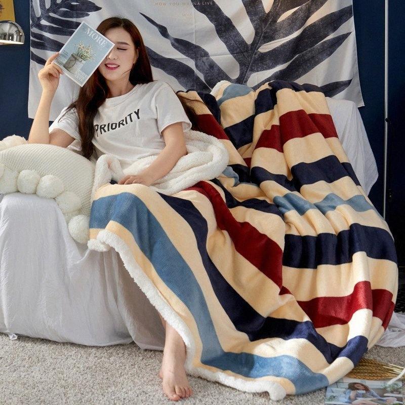 WHISM Sherpa İki Çift Ağırlıklı Battaniye 6 yatak Koltuk Manta jsMt # için 2 Boyutları Şık Ekose Atma Battaniye Yumuşak battaniyeler Tasarımları Isınma