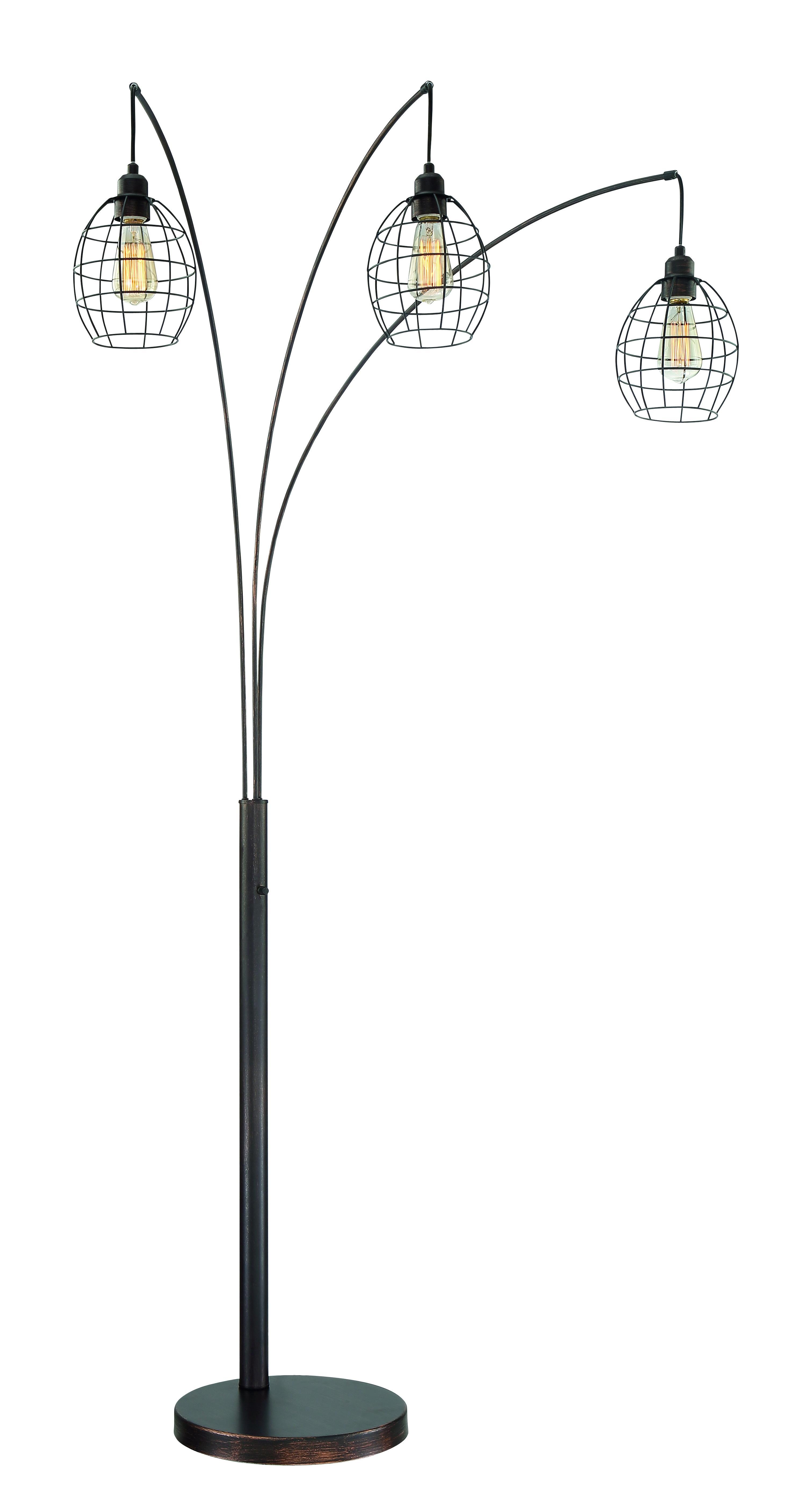 58547-33 (Three-Grip luminária de chão)