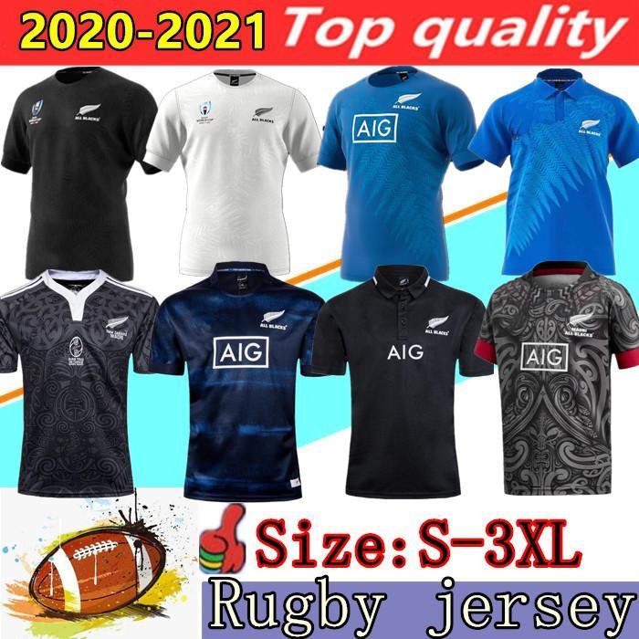 Yeni 2020 Zelanda Süper Rugby Formalar 2019 Dünya Kupası Newzealand Rugby Gömlek 100 Yıl Yıldönümü Hatıra Sürümü 18 19 20 21 Gömlek