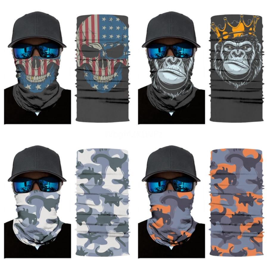 Zubra cráneo bufanda del pañuelo facial Er al aire libre respirable del polvo anti E Ciclismo máscara máscaras magia cráneo bufanda de protección # 328