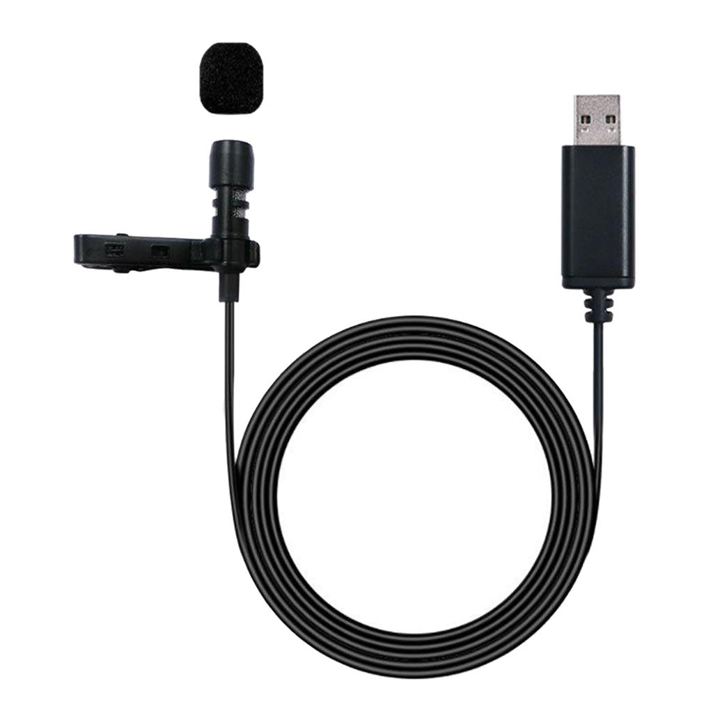 Usb External Microphone W Collar Clip Mic Cable For Smartphone Laptop Pc Test My Microphone Usb Microphones From Sharplace 7 77 Dhgate Com