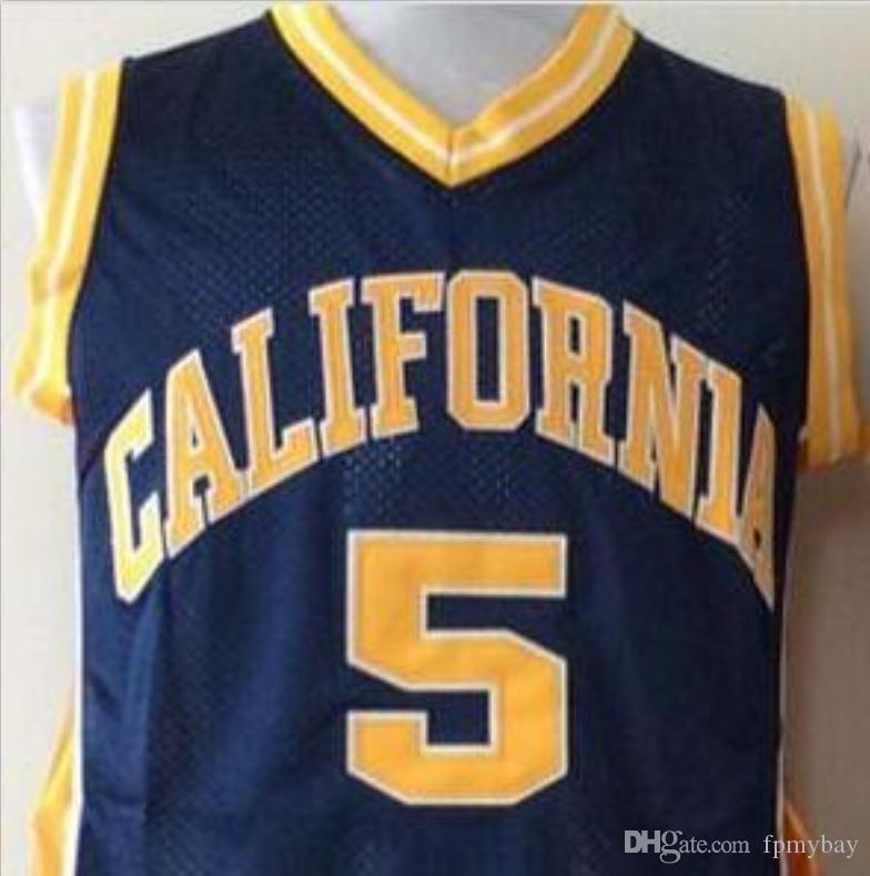 las mujeres de Hombres jóvenes Vintage # 5 Jason Kidd carliforniana Berass baloncesto Jersey, tamaño S-6XL o costumbre cualquier nombre o el número del jersey