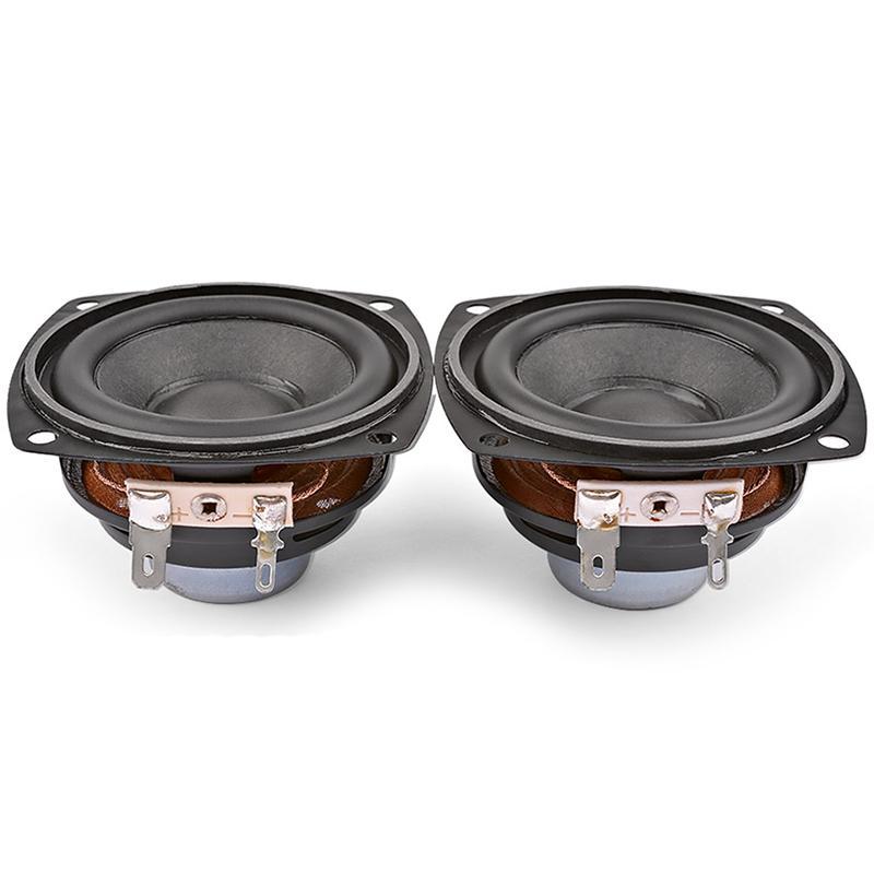 2 pezzi da 2,5 pollici altoparlanti portatili 4Ohm 10W 66MM Full Range o Bass Speaker Multimedia neodimio rete Altoparlante
