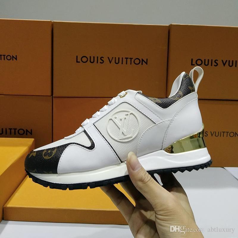 Femmes Chaussures Run Mode loin Sneaker Chaussures Femme De luxe de style avec l'origine Boîte Vintage Design Lady Chaussures style décontracté Vente de luxe