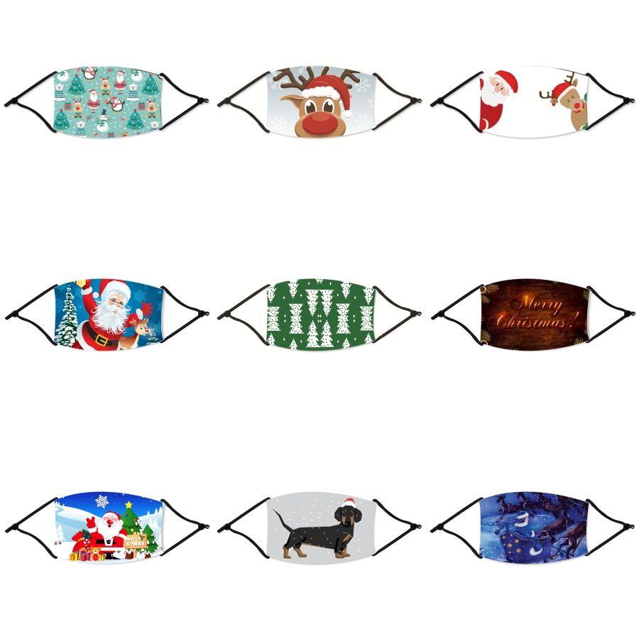 Mujeres Seda bufanda mágica máscara facial de Navidad multifuncional 13 estilos gasa pañuelo al aire libre a prueba de viento de la media cara a prueba de polvo de la sombrilla # 617