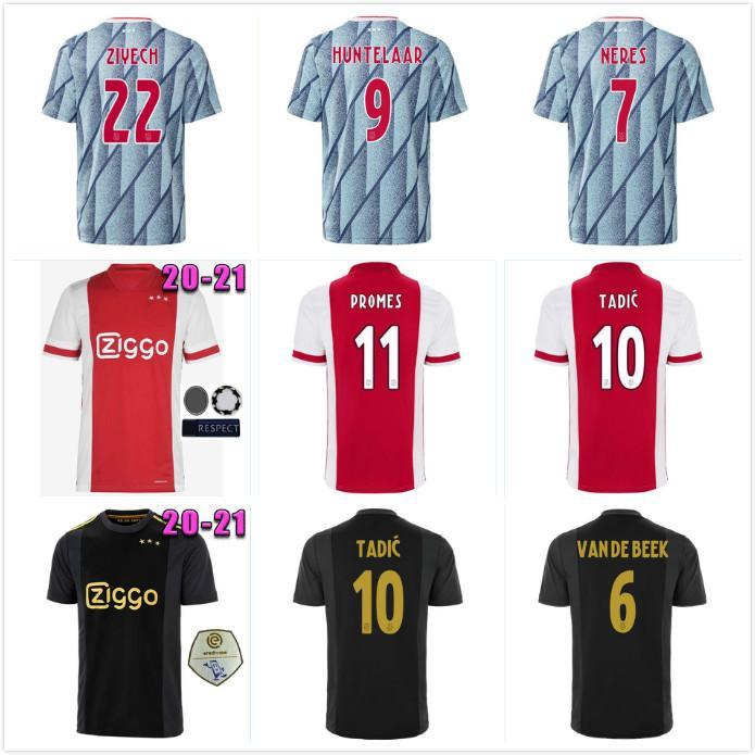 20 21 AJAX амстердам FC футбол Джерси 2020 2021 ПроМес ÁLVAREZ Тадич NERES VAN Бик мужчины дети футбольные рубашки обмундирования Майо третий 50th