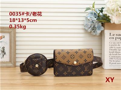 2020 fashion men women work multi-capacity handbag diagonal diagonal shoulder bag computer bag high quality backpack wallet purse V35