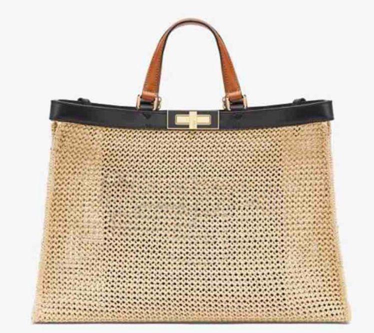 Tote Bag per la borsa designer borse vendita di modo Tie Dye Tote per le donne borse pastello Tote Escale Collezione Peekaboo
