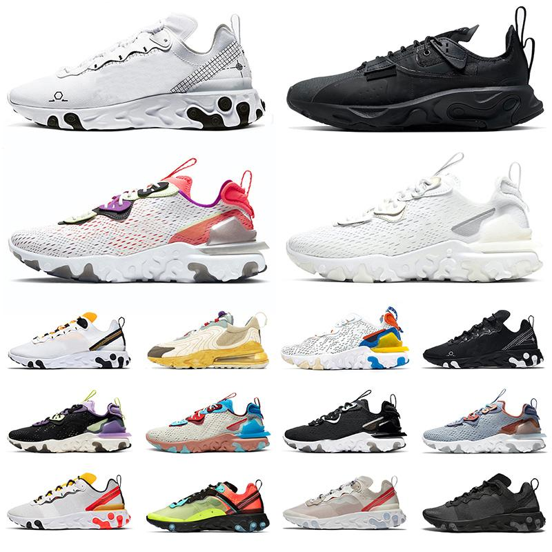 react vision Trainers element 87 55 n354 Type GTX Travis Scott Cactus Jack Trails mens womens running shoes Saffron white black men sneakers