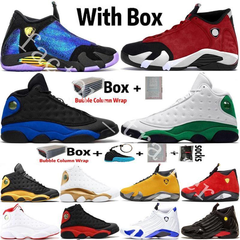 2020 새로운 도착 Jumpman (14) 14S DB Doernbecher 체육관 레드 터보 남성 농구 신발 (13) 13S 하이퍼 로얄 검은 고양이 스포츠 트레이너 스니커즈