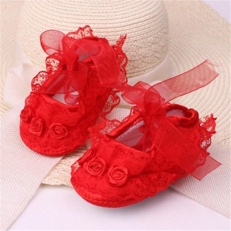 Baby Shoes Casual appena nato ragazze Babies Scarpe da ginnastica Infantil Menina bambino dell'arco del merletto floreale usura casuale dei ragazzi del pattino corrente bravi ragazzi Sho 1IR9 #