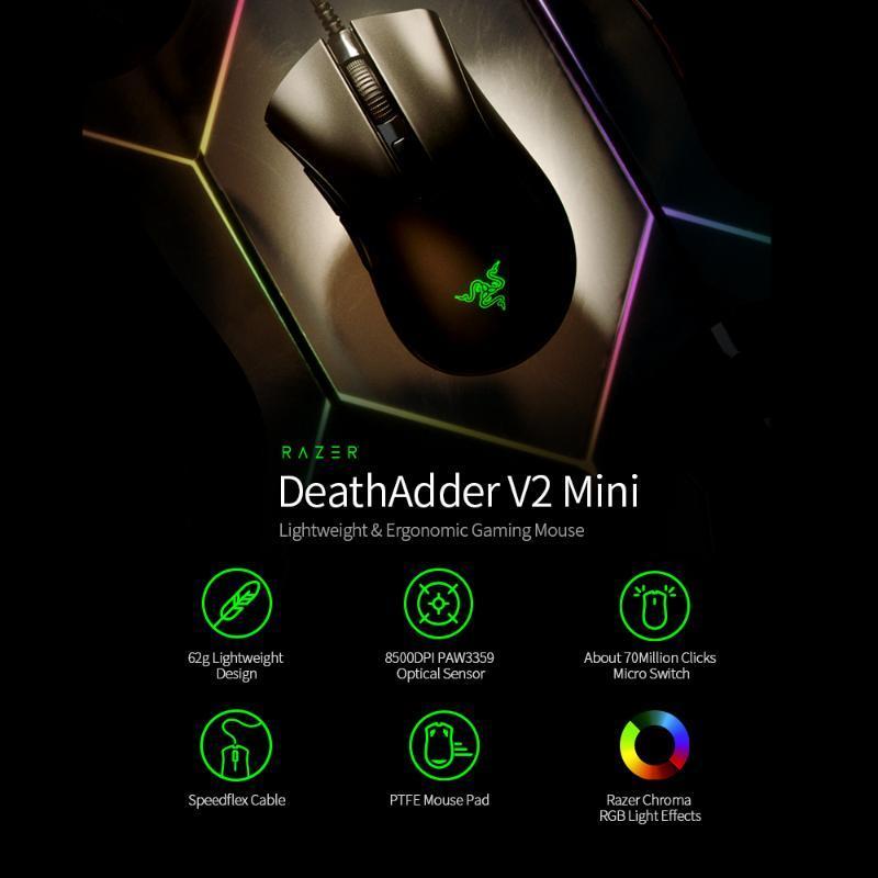 الألعاب ماوس الأصل الماسح DeathAdder V2 MINI