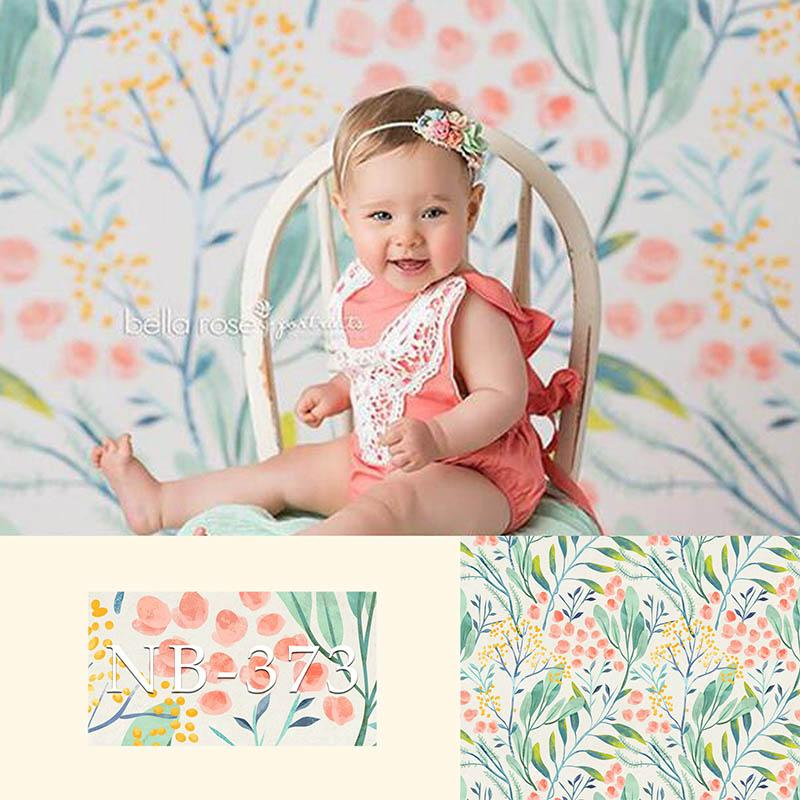 NeoBack Photography Backdrops Newborn Flower Photographic Background Baby Shower Decorations Photocall Photo Studio