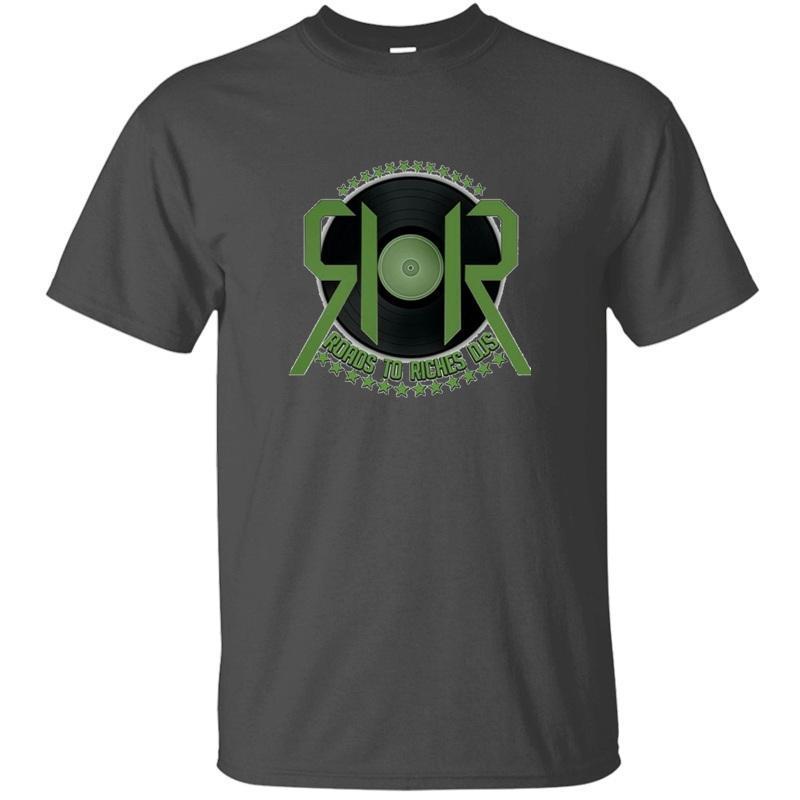 Routes To Riches tricotée Djs T-shirt pour les hommes Lettre célèbre Noir Gents impressionnant hommes et les femmes T-shirts manches courtes