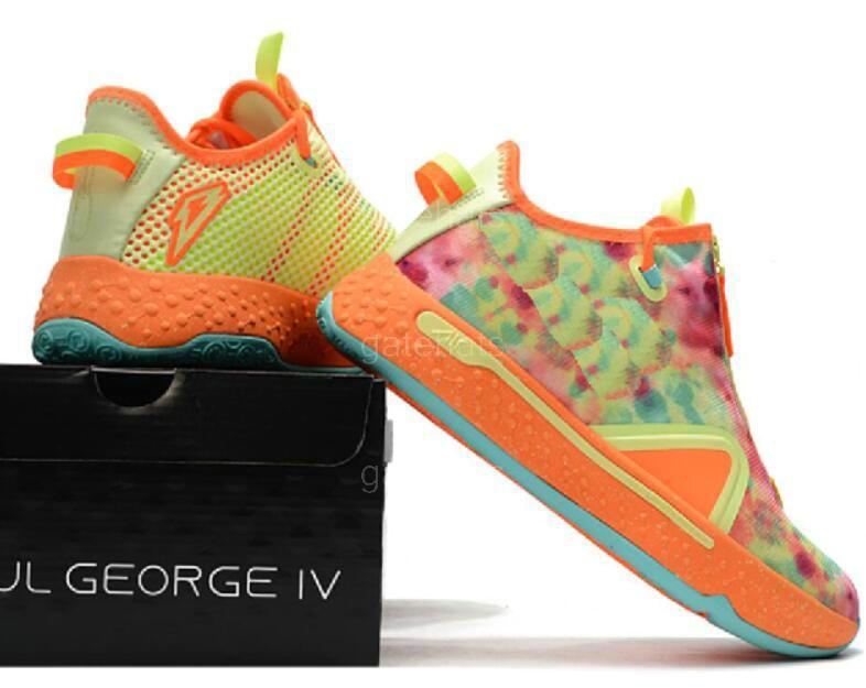 Paul George PG 4 PG 4 Zapatos IV para hombre Gatorade Baloncesto blanco PG4 Deportes zapatillas de la tienda Envío Gratis Tamaño 40-46 a37