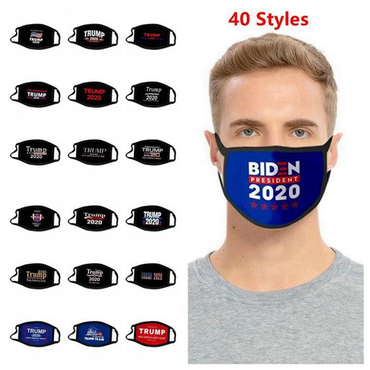 3D Tasarım Trump Maske Windproof Pamuk Ağız Maskeleri Yetişkin Amerikan Seçim Birleşik Devletleri Cumhurbaşkanlığı Seçimleri 500pcs Maske