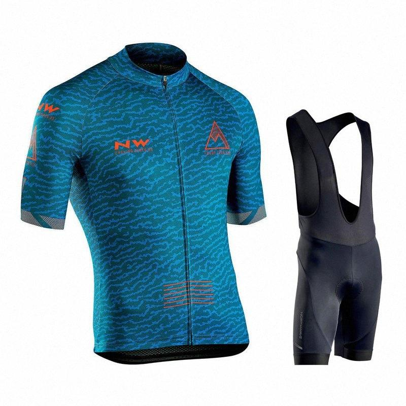 NORTH Wave-Short Sleeve Jersey 2020 Pro Team Nw Fahrradbekleidung Ropa Ciclismo Hombre Sommer Mountainbike Uniform mavicing bPYa #