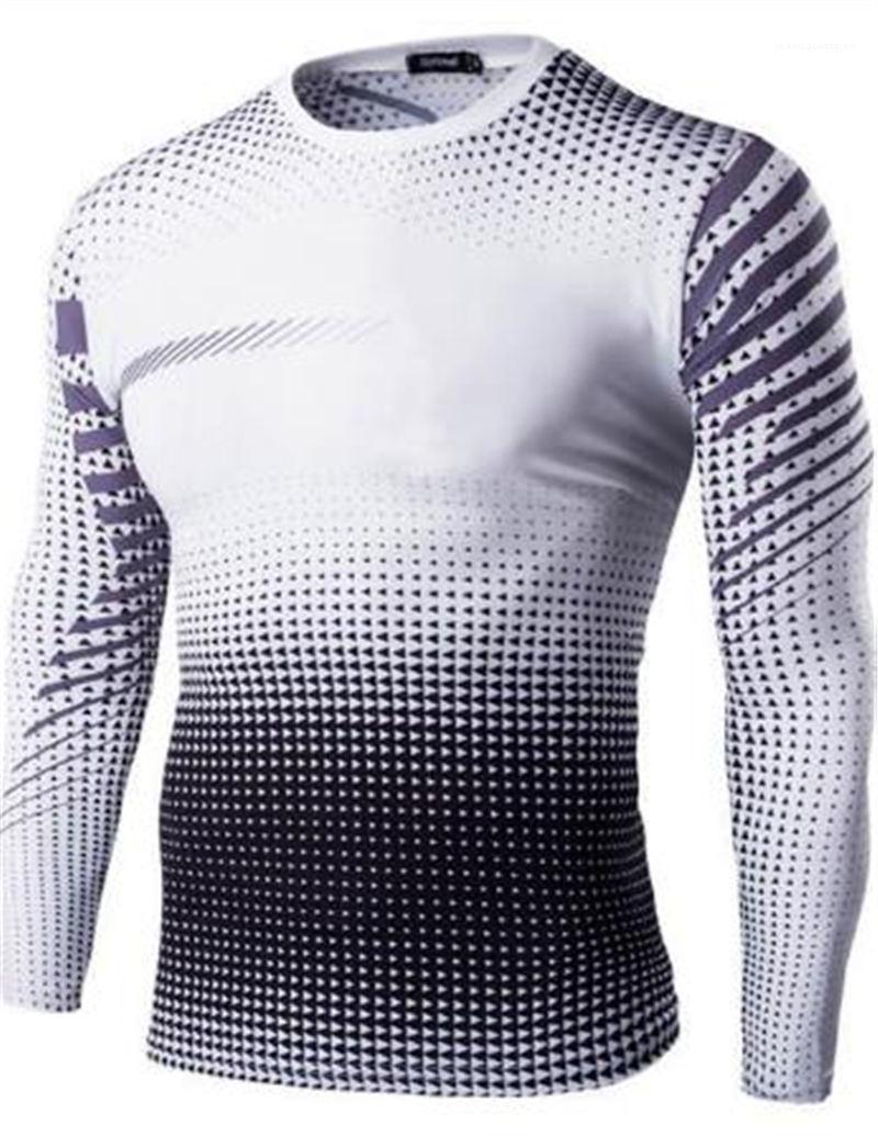 Mens dünne Einstiegsgehalt Homme Print Langarm, schnelltrocknende Sweatshirt Herren Kleidung Herren Designer Sweatshirt