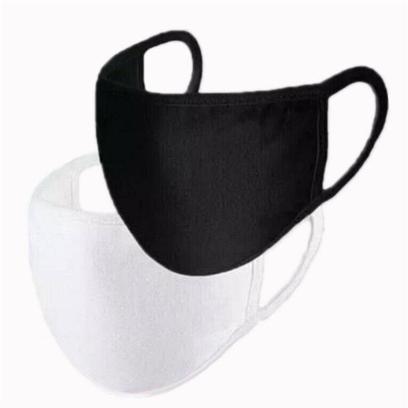 2020 Neue Anti-Staub Staubschutz Baumwolle Mund-Gesichtsmaske Unisex Mann eine Frau Radfahren Caps Tragen Schwarze Mode Hohe Qualität