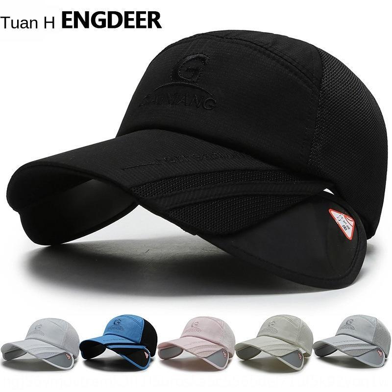 5w5FW Nuovo stile coreano moda estate baseball all'aperto Sunscreen tappo capbaseball cappello di tiro bordo di protezione del sole delle donne del cappuccio hanno capmen e all-m
