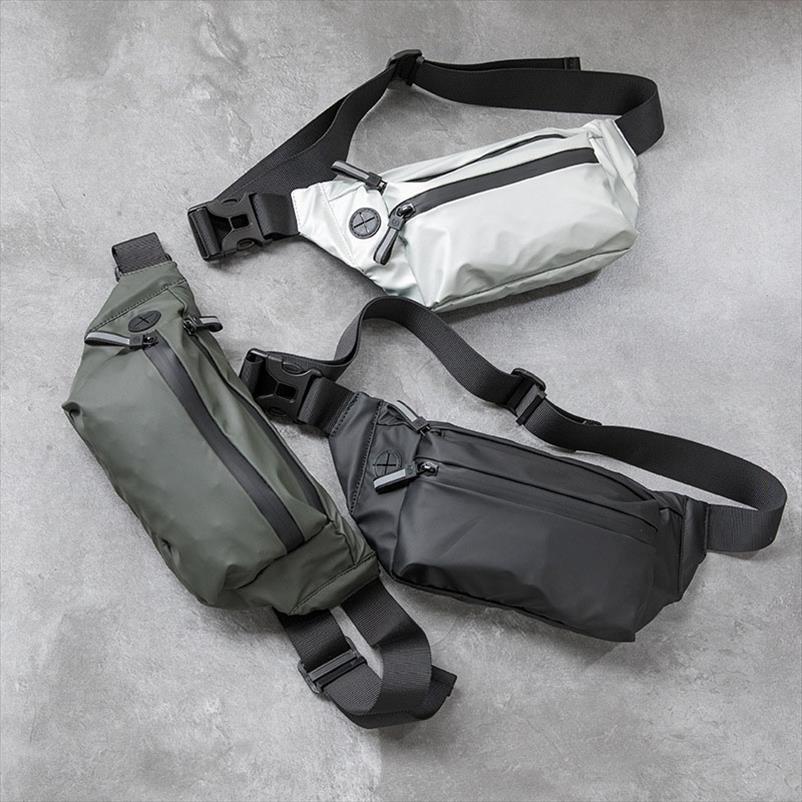 Impermeabile uomo Marsupio pacchetto di Fanny Moda petto Pack Outdoor Borsello grande capacità Unisex Belt marsupi borse alla moda