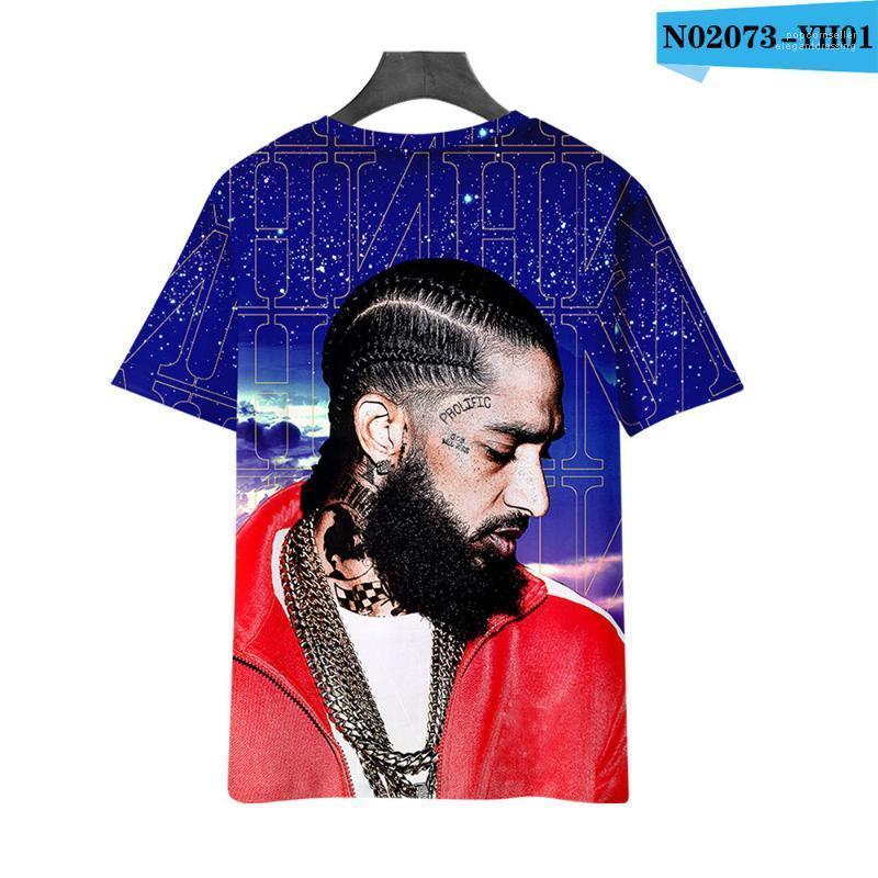 Tops mit Kapuze 3D-Designer Klassische Tees Hombres T-Shirt Nipsey Hussle RIP Hoodies Frühling, Sommer,