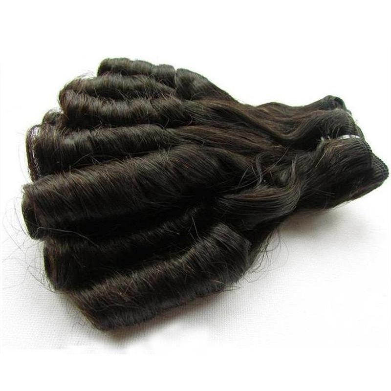 factory make order super double drawn human hair bundles unprocessed virgin hair extension natural color 100g/pcs fumi hair wholesale