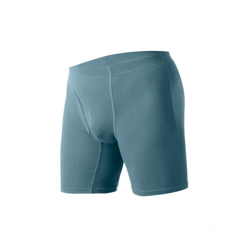 G5IhL grandi dimensioni boxer In mutande, più grasso del grande sport allungate le gambe anti-usura modale pantaloni del pugile a vita alta di grassi intimo maschile
