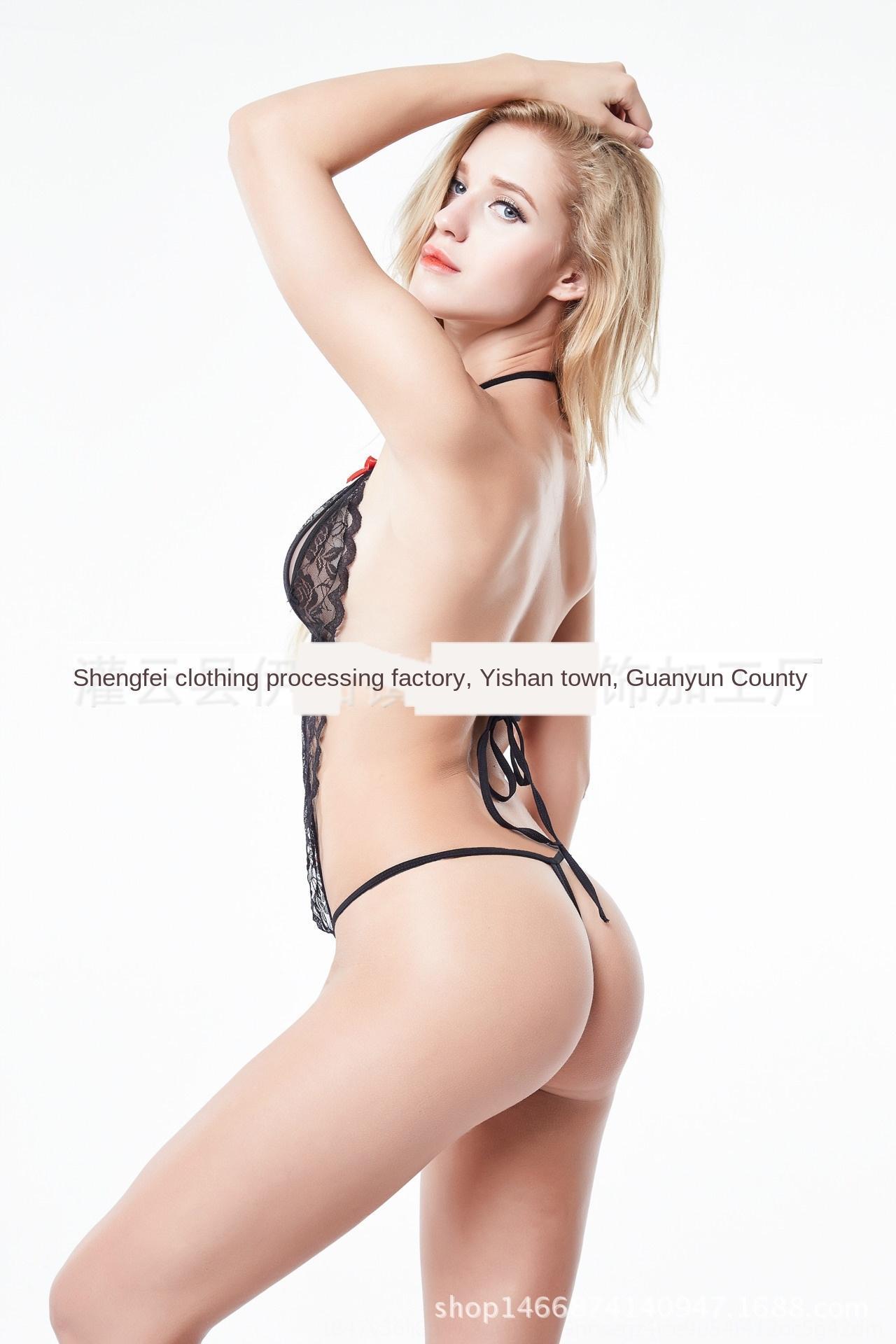 Сексуальное белье кружево комбинезона прозрачных женщин глубокого V вырез искушение сексуального нижнее белье кружево пижама пижама csEnH