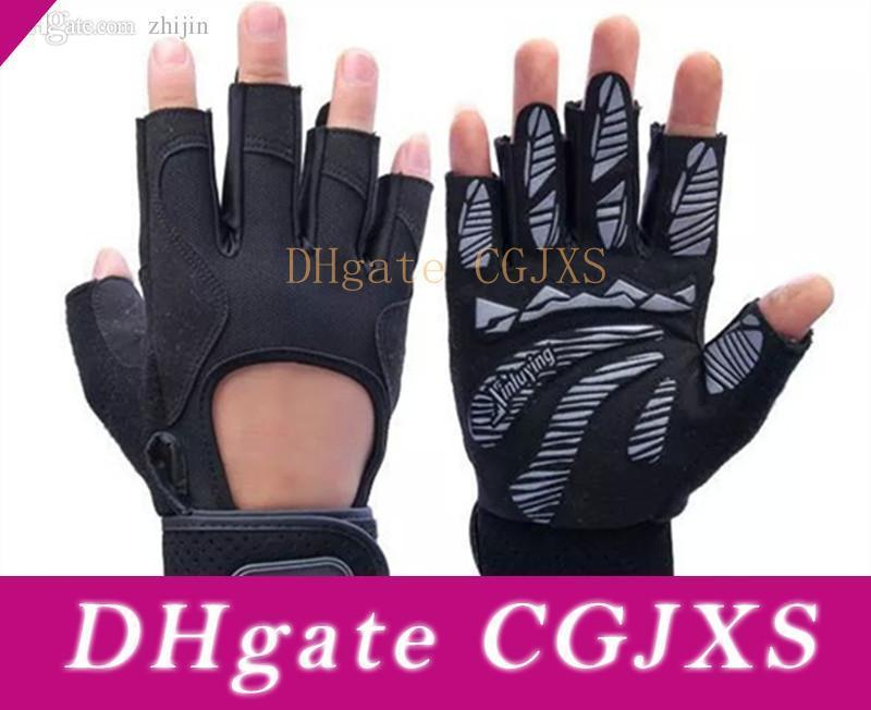 Gym Body Building Training Fitness Gloves Sport Weight Lifting Workout ExercisJO