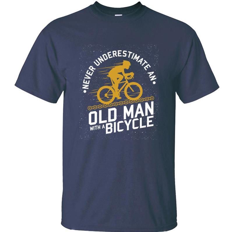 erkekler yaz Dinlence kadın tişörtleri için bisiklet tshirt Yaratık Casual yaşlı adam S-5XL Kısa Sleeve Üst Kalite takıldı