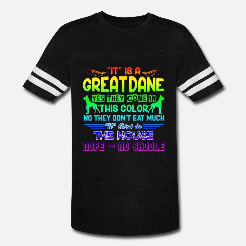 Great Dane Gehen Antworten Shirt Männer Shirt t Customized Baumwolle Rundhals Familie Sonnenlicht Lustig Frühling kühles Hemd