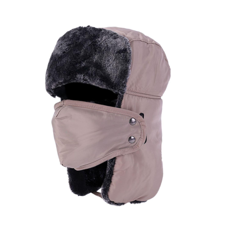 Heißer Verkauf-beweglicher Geschenk-Männer und Frauen Winter-Lei Feng Hut Maske-Ansatz verdickte Warm Radfahren winddicht Kalt Beweis Gehörschutz