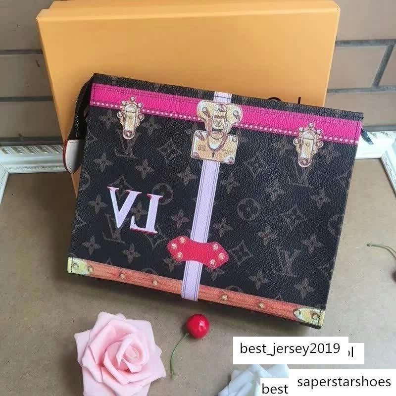M61692 POCHETTE MM mujeres de la marca EMBRAGUE BAG fruncen Mini Embragues exóticos TARDE cadena de la correa Bolsas