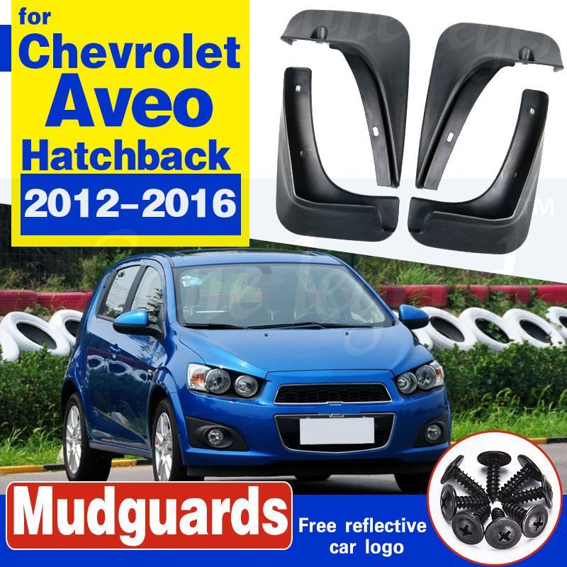 Garde-boue de voiture pour Chevrolet Aveo Sonic TM Barina Hatchback 2012-2016 bavettes garde-boue BOUE Garde-boue 2013 2014 2015