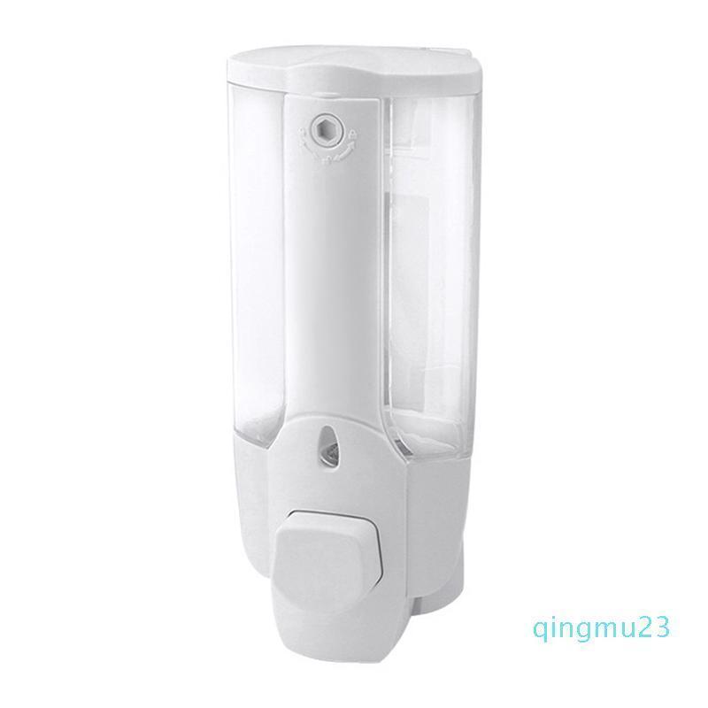 All'ingrosso-350ml fissato al muro del sapone liquido Bagno lavaggio a mano Shower Gel bottiglia Bagno Hardware WWO66