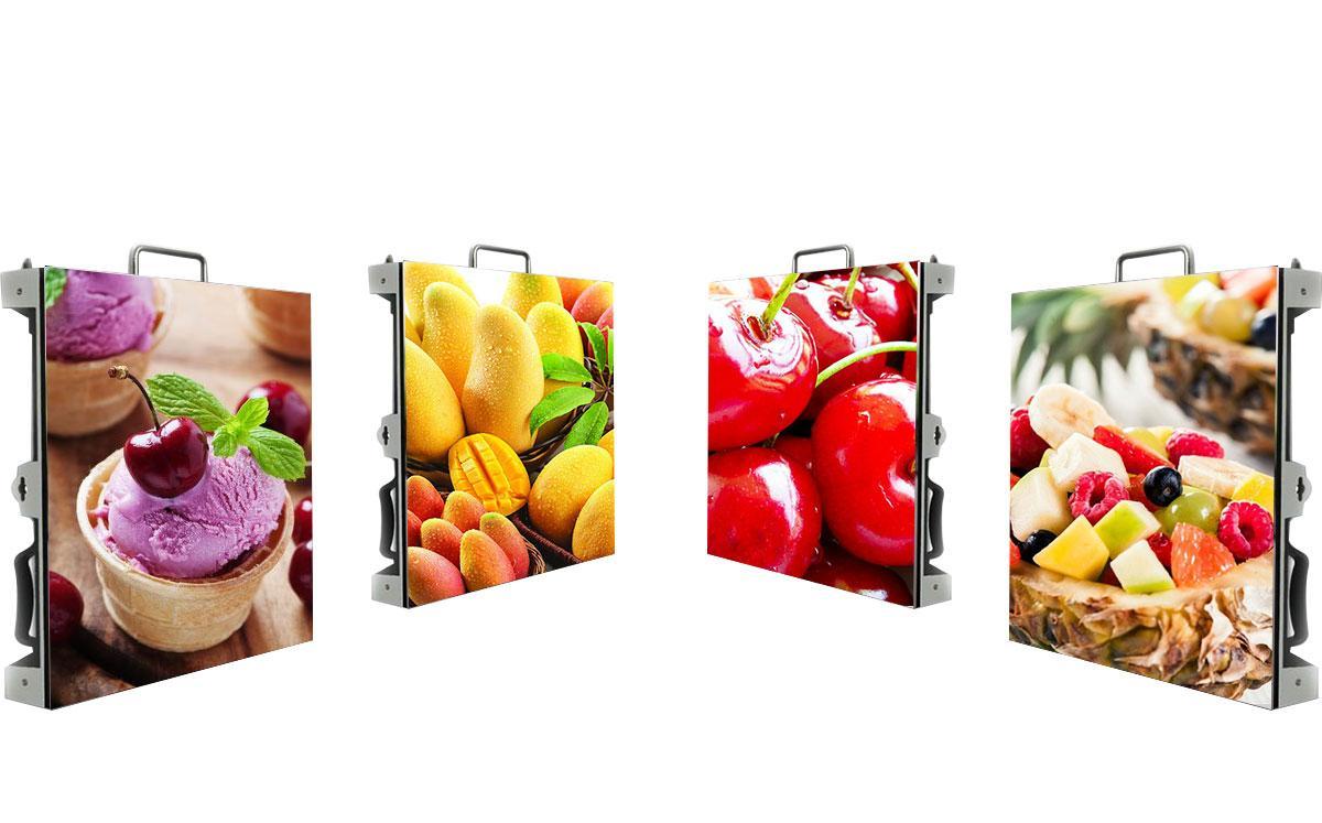 P4.81 im Freien LED-Anzeigen / LED Boden Bildschirm für die Vermietung der Werbe
