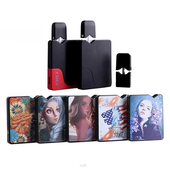 Ciggo originale JBox Kit E sigaretta Pod Kit 350mAh VAPE mod con pod di olio vuoto e-liquid o mod solo 7 colori J Box
