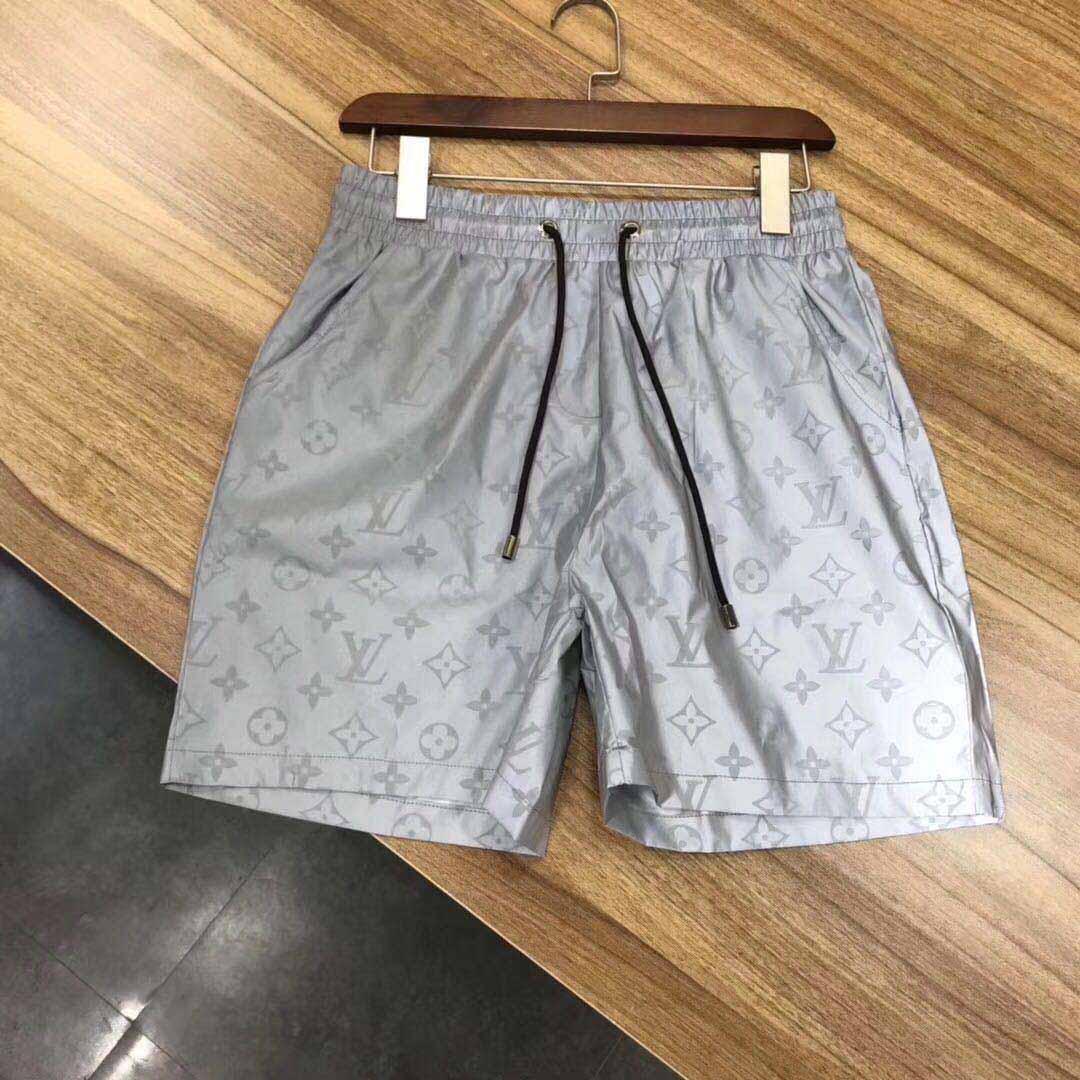 2020ss shorts imperméable pantalons de piste en tissu pantalons plage d'été des hommes shorts de natation hommes shorts courts sport