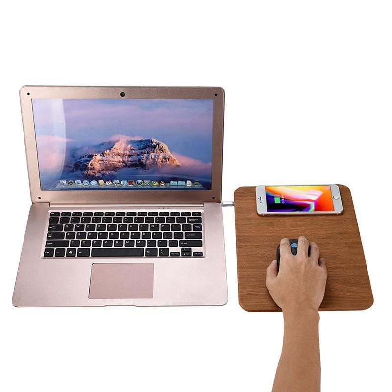 cgjxsQi Chargeur sans fil Pad de charge pour iPhone 8 / X 7 plus 6s 5 Pad de charge pour Samsung Galaxy S8 bord plus de charge avec tapis de souris