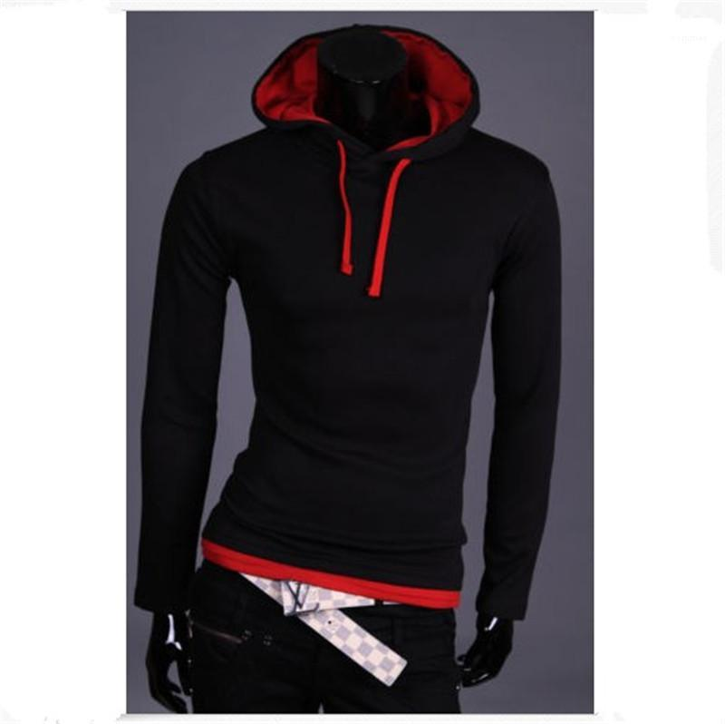 Long Sleeve Tee Hooded Sweater Designer New Male Loose Sports Sweatshirts Clothing Man Patchwork Casual Hoodies Fashion Trend