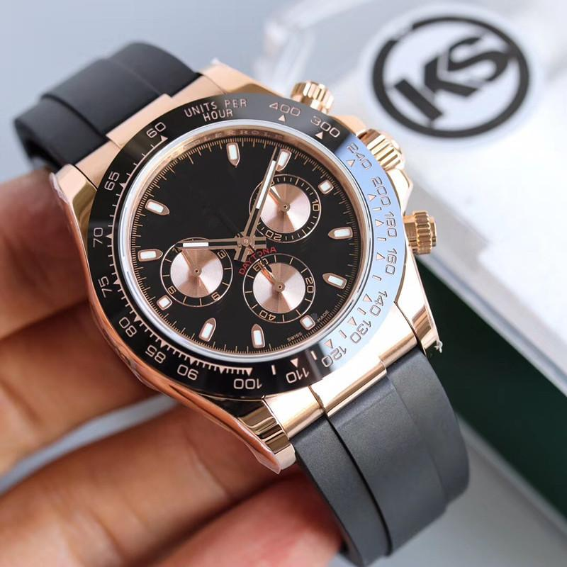 KS мужские часы MONTRE De Luxe 40MM автоматические 7750 движения мужчины часы Релох де Lujo Relojes де Lujo пункт HOMBRE Часы V4