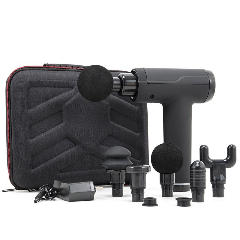Brushless Motor LCD Massage Gun Muskelentspannung Elektrische Massag Körpermassager- Fascia Percussion Sprot Schmerzlinderung Abnehmen Gun