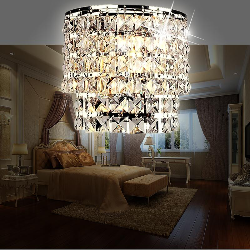 modern crystal chandelier wall light indoor wall sconce lamp LED foyer living room bedside glass crystal wall lamps