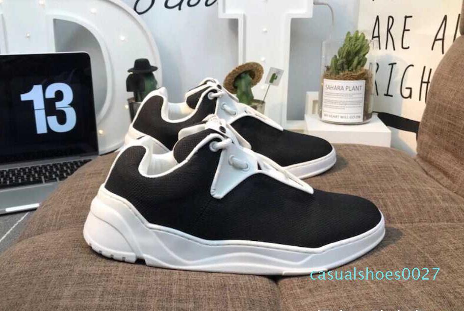 Kutu Sıcak Satış C27 ile Chunky Sneaker Lüks Tuval Runner Ayakkabı Günlük Ayakkabılar Yeni Sezon Sneakers Üst Kalite Koşucular Açık Yürüyüş Ayakkabı